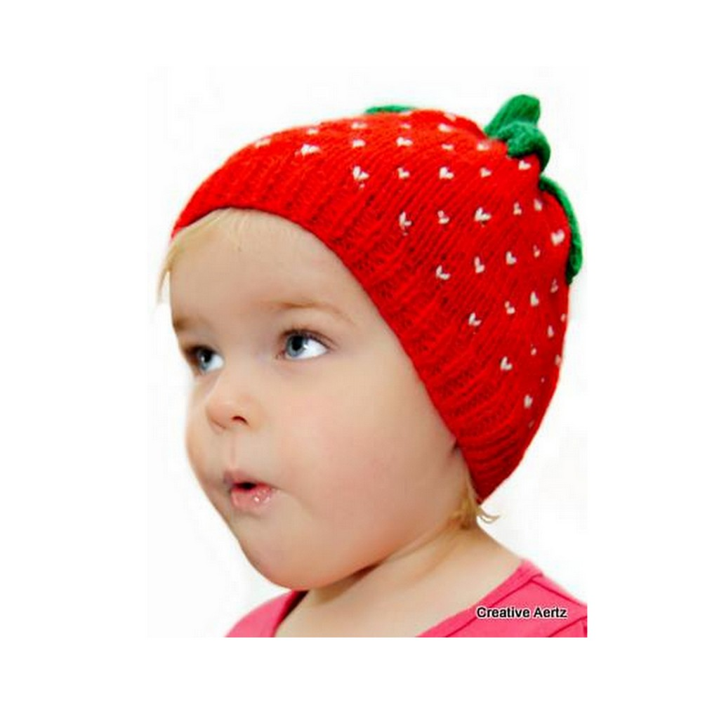 e21e000a75e Deliciously Sweet Strawberry Hat